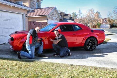 Dodge Challenger SRT Hellcat Redeye TorRed