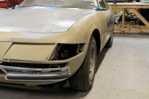 Ferrari 365 GTB/4 Daytona completamente smontata asta