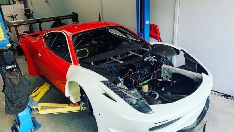 Ferrari 458 motore IndyCar