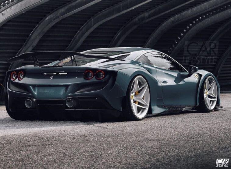 Ferrari F8 Tributo widebody