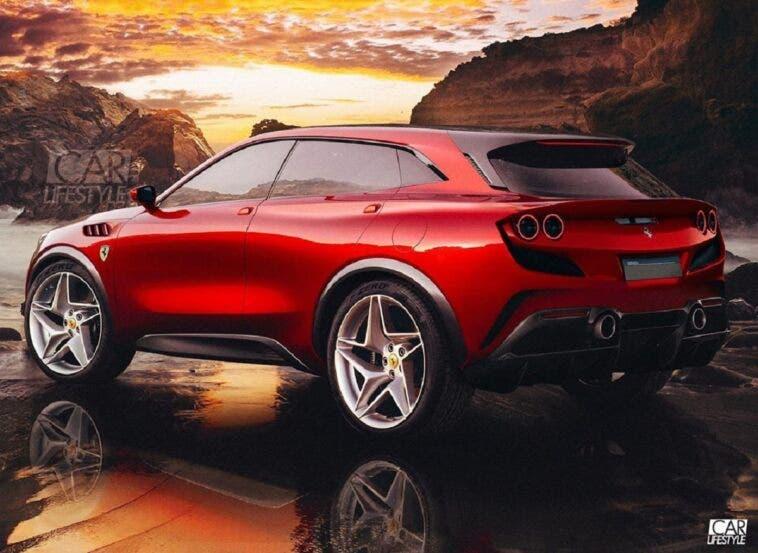 Ferrari Purosangue CarLifestyle render