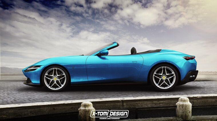 Ferrari Roma GTS render