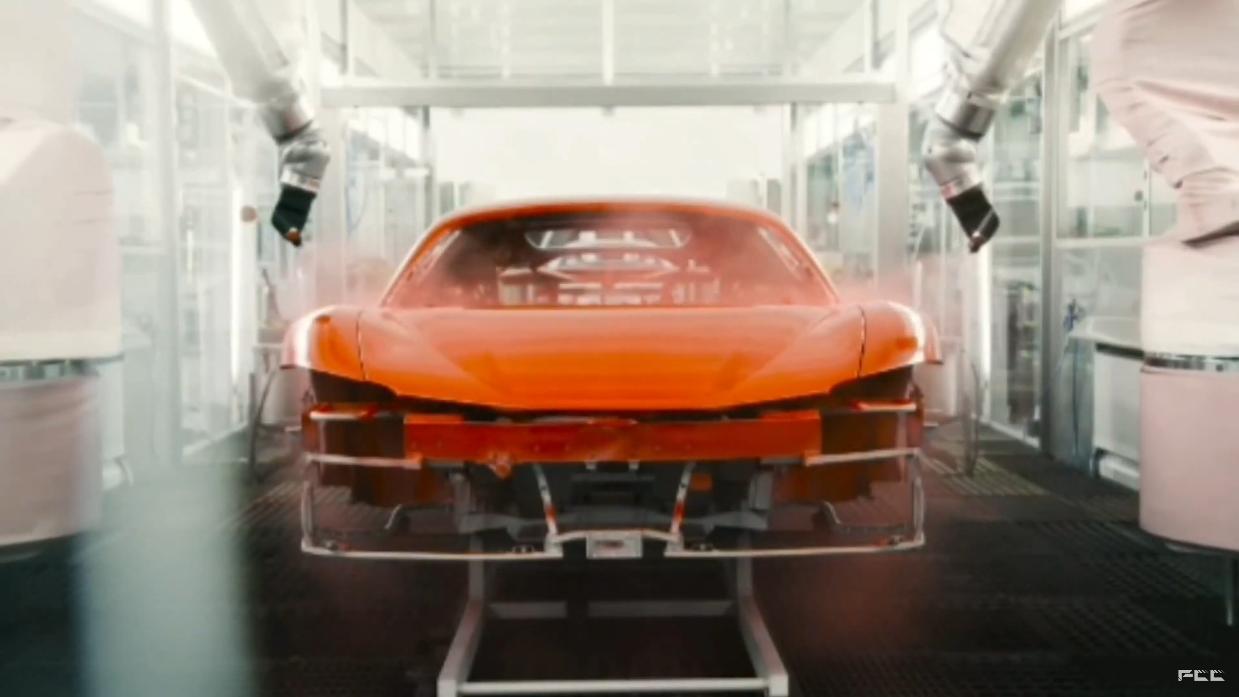 Ferrari SF90 Stradale assemblaggio