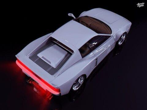 Ferrari Testarossa Miami Vice Abimelec Design