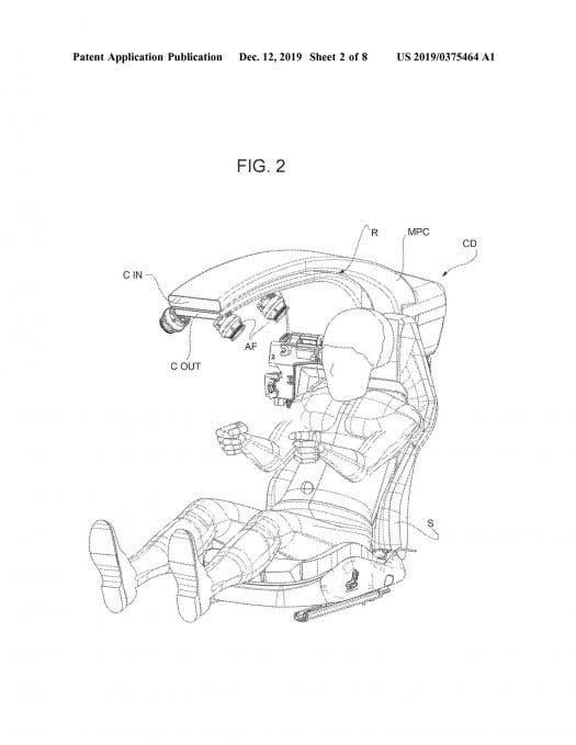 Ferrari nuovo brevetto halo design