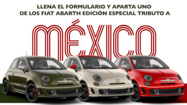 Fiat 500 Abarth Tribute To Mexico