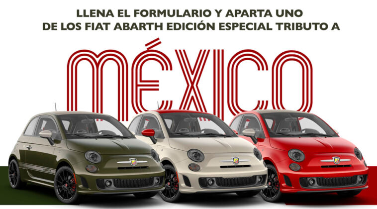 Fiat 500 Abarth Tribute To Mexico