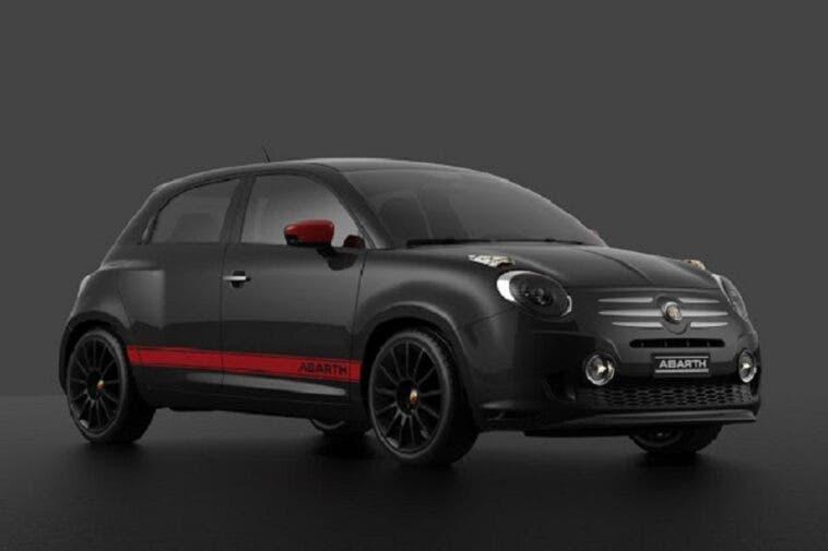 Fiat 600 Abarth render