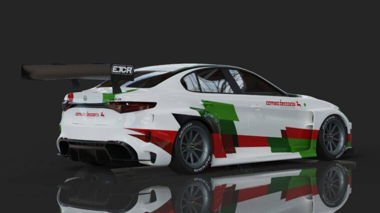 Alfa Romeo Giulia ETCR