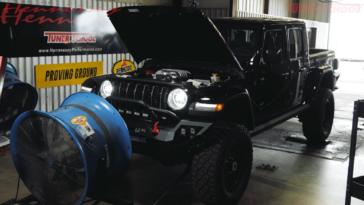 Hennessey Maximus Jeep Gladiator banco prova