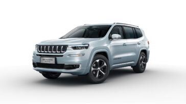 Jeep Grand Commander PHEV Cina