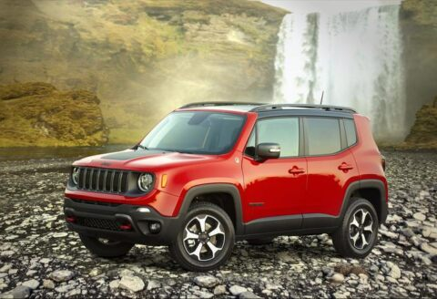 Jeep Renegade 2020 Top Safety Pick 2019