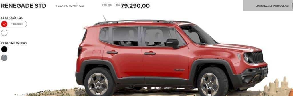 Jeep Renegade STD Brasile
