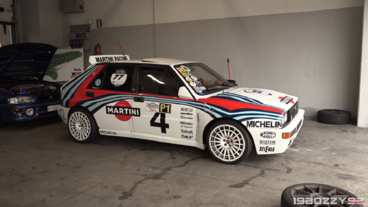 Lancia Delta HF Integrale Evoluzione Adria Raceway