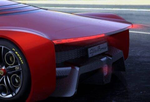 Nuova Alfa Romeo 8C render