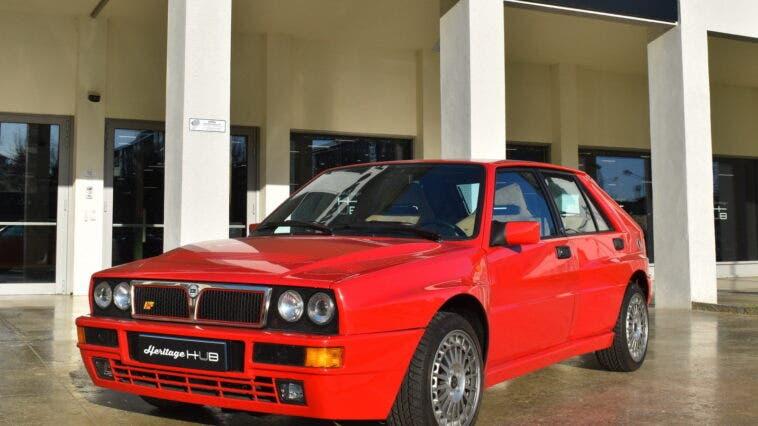 Lancia Delta HF Integrale Heritage Parts