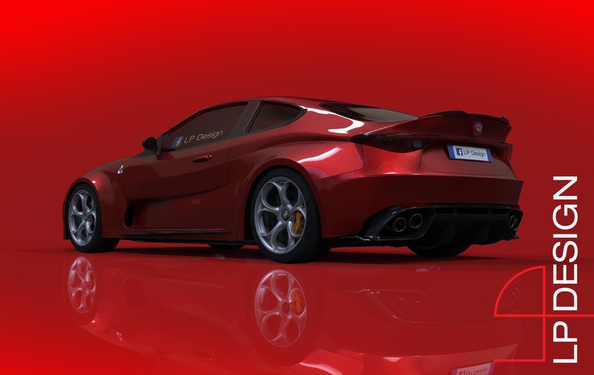 Alfa Romeo GTV LP Design nuovo render