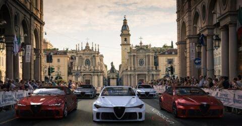 Alfa Romeo GTV Parco Valentino render