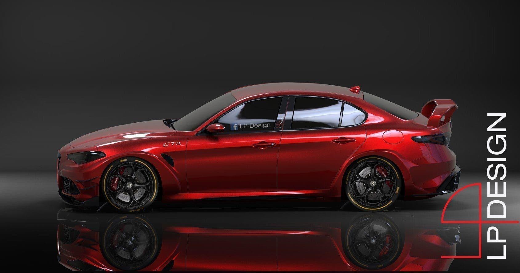 Alfa Romeo Giulia GTA LP Design