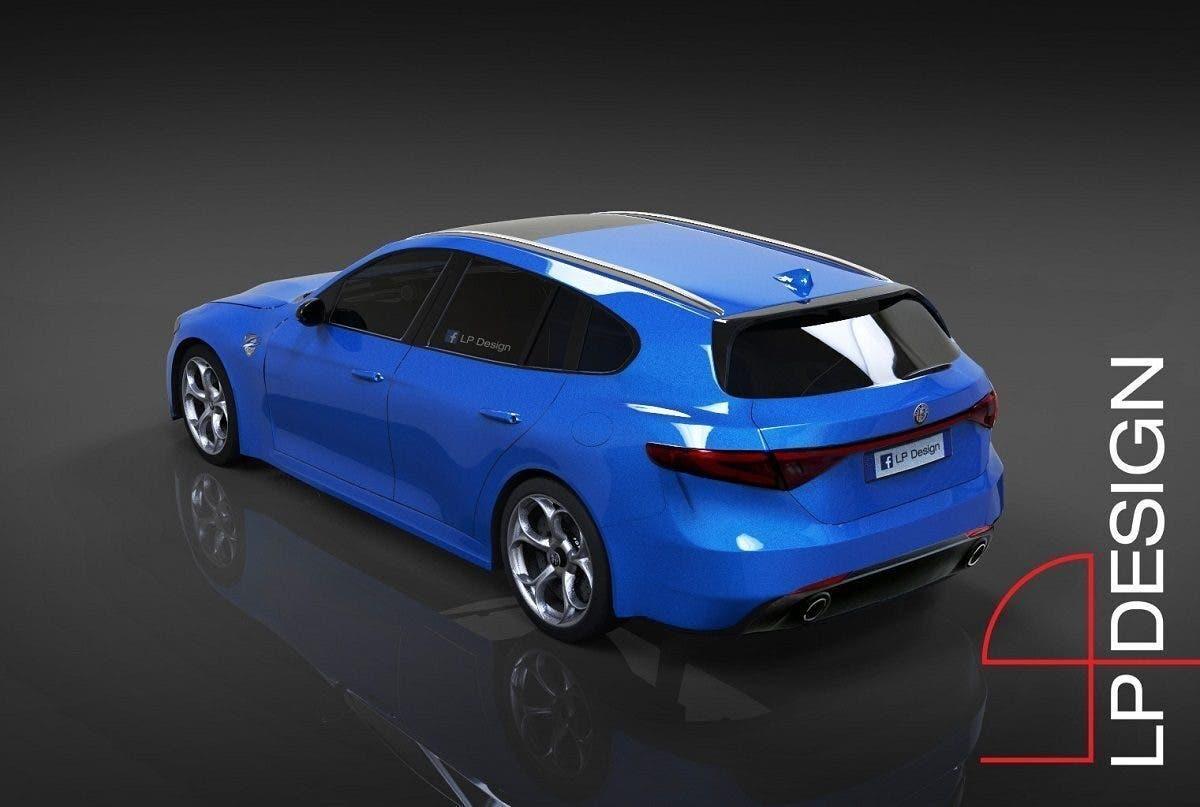 Alfa Romeo Giulia Sportwagon LP Design