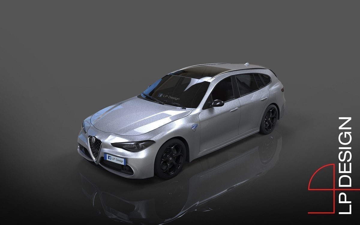 Alfa Romeo Giulia Sportwagon LP Design render