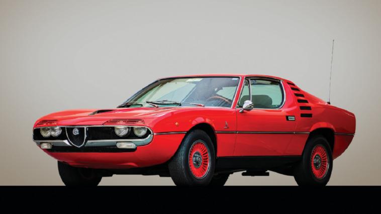 Alfa Romeo Montreal 1972 asta