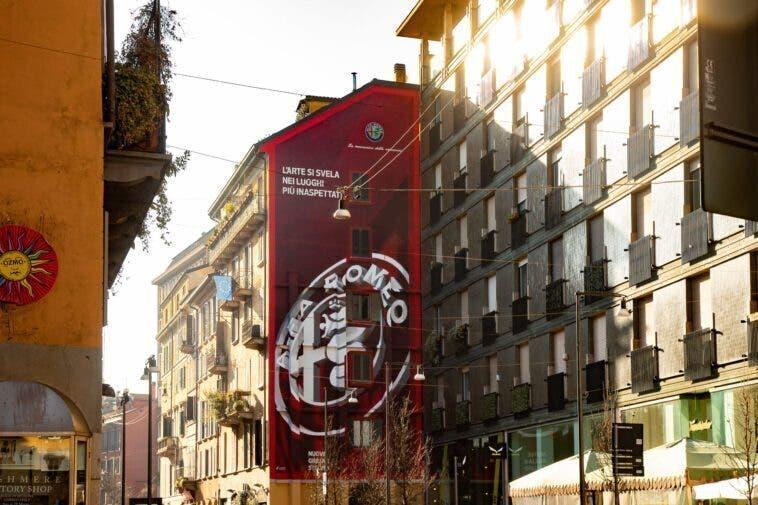 Murales di Alfa Romeo a Milano