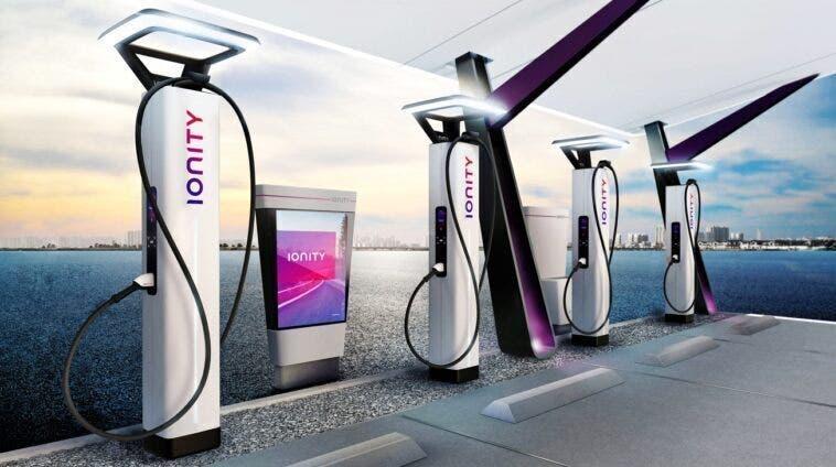 Auto elettriche Ionity