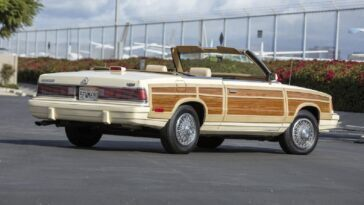 Chrysler LeBaron Town & Country Convertible 1986 asta