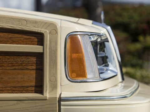 Chrysler LeBaron Town & Country Convertible 1986 asta