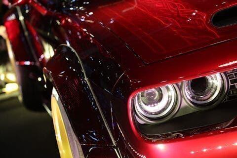 Dodge Challenger Rohan Izawa Art Design