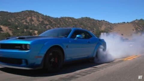 Dodge Challenger SRT Hellcat Redeye MotorTrend