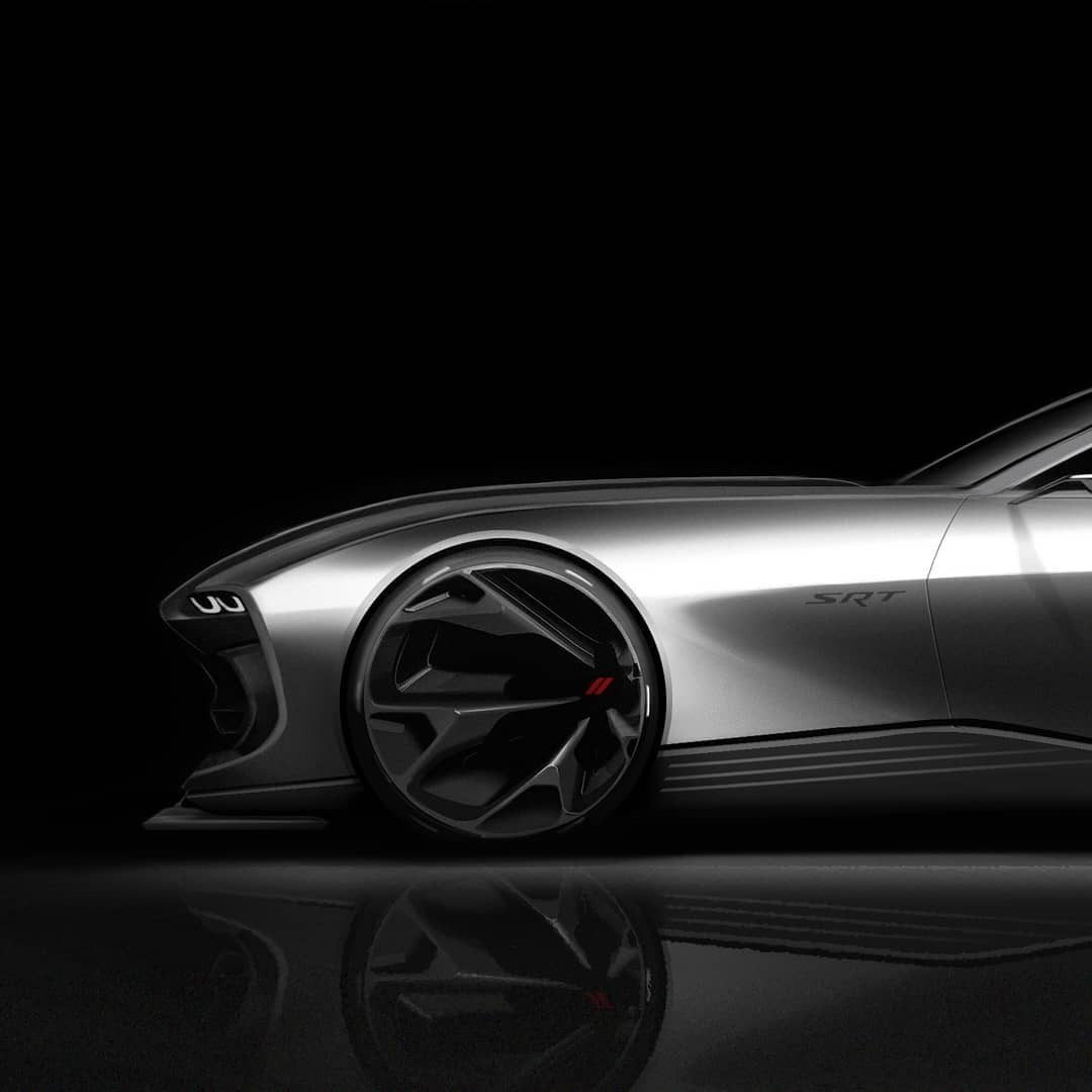 Dodge Challenger elettrica concept