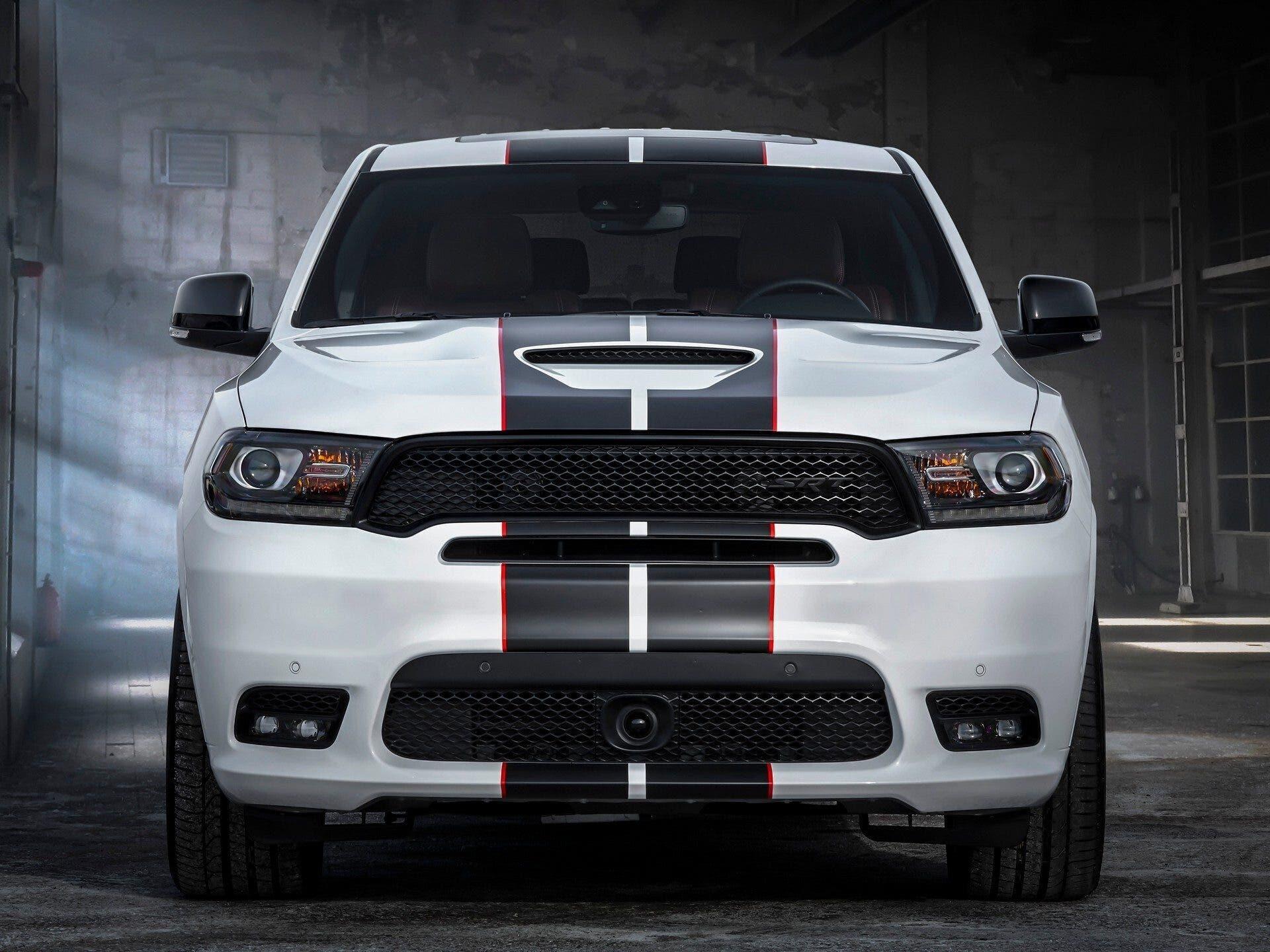 Dodge Durango SRT Black Redline Stripes