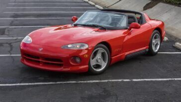 Dodge Viper RT/10 1992 asta