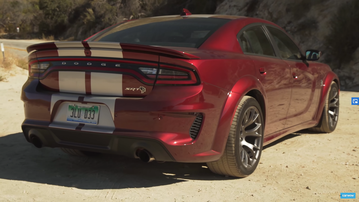 Dodger Charger SRT Hellcat Widebody 2020 Carwow