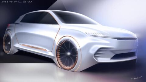 FCA Airflow Vision Concept