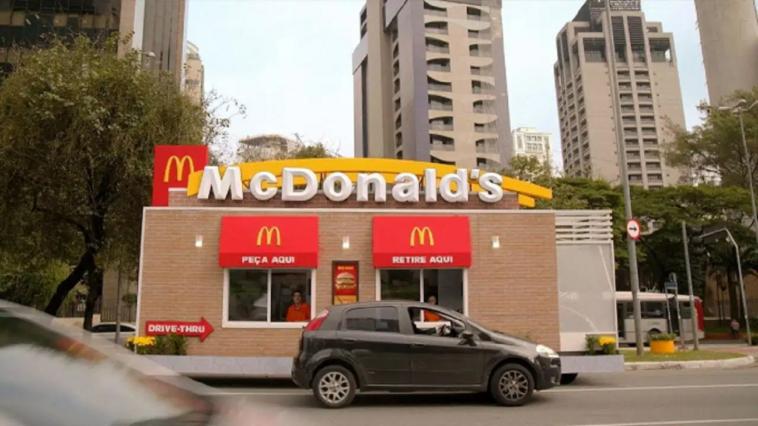 FCA McDonald's servizio drive-thru Brasile