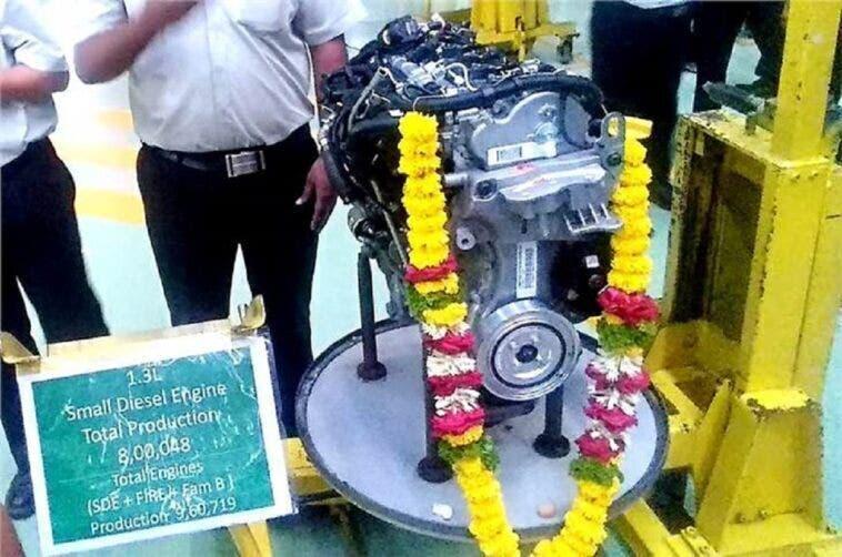 FCA motore Multijet diesel 1.3