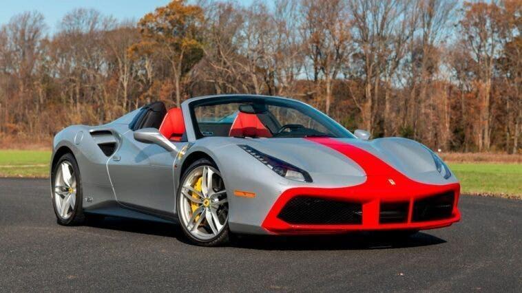 Ferrari 488 Spider 70th Anniversary asta