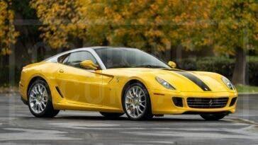 Ferrari 599 GTB Fiorano 2007 asta