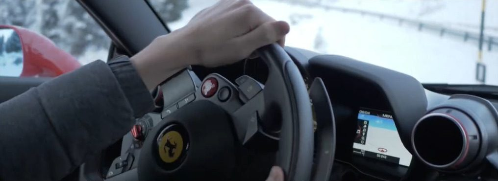 Ferrari F8 Tributo Robert Shwartzman