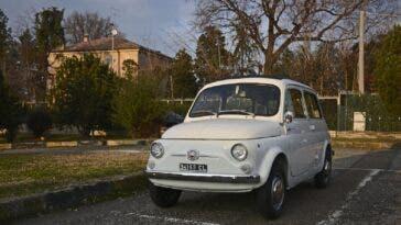 Fiat 500 Giardiniera 1972 asta