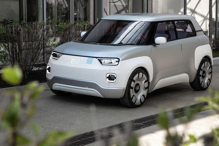 Fiat Centoventi Concept CES 2020