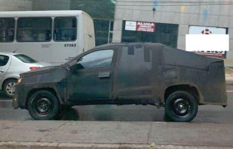 Fiat Strada 2021 foto spia Brasile