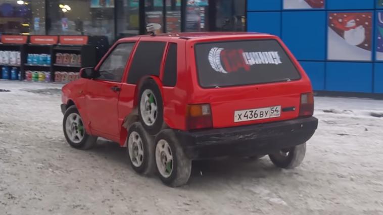 Fiat Uno otto ruote Garage 54