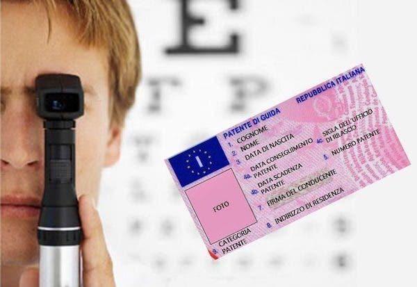 Guida senza occhiali incidenti Regno Unito
