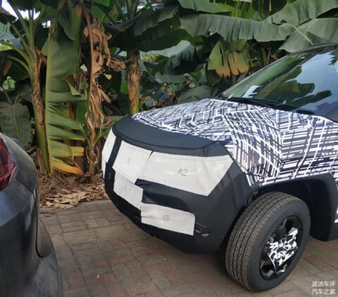 Jeep Compass 2021 foto spia