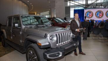 Jeep Gladiator North American Truck of the Year 2020