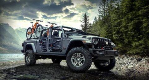 Jeep Gladiator Rubicon 2020 Mopar